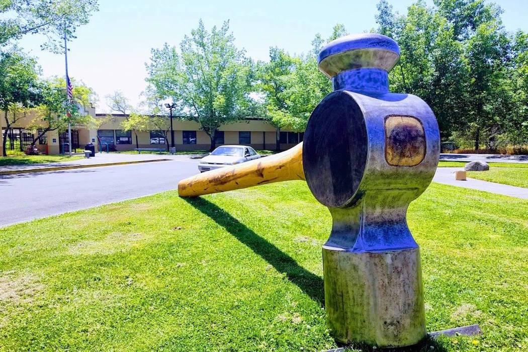800-pound hammer stolen in Northern California