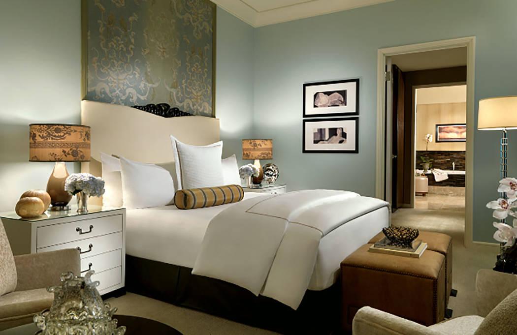 This one-bedroom penthouse in Trump International Las Vegas measures 1,561 square feet. (Trump International Las Vegas)
