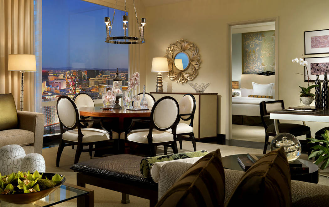Trump International Las Vegas This one-bedroom penthouse in Trump International Las Vegas is listed for $1.5M.