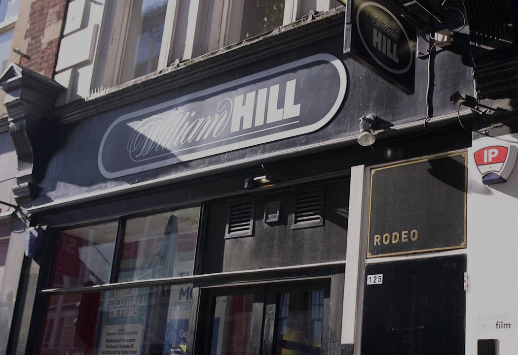 One of the William Hill sports books on Tottenham Court Road in London, England, Saturday, Oct. 13, 2018. Heidi Fang Las Vegas Review-Journal @HeidiFang