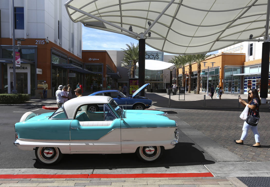 A 1962 Nash Metropolitan on display during the 23rd annual Summerlin Festival of Arts at Downtown Summerlin in Las Vegas on Saturday, Oct. 13, 2018. Chase Stevens Las Vegas Review-Journal @cssteve ...