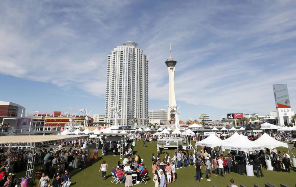 A food event, Martha Stewart Wine & Food Experience, in Las Vegas, Saturday, Oct. 13, 2018. Chitose Suzuki Las Vegas Review-Journal @chitosephoto