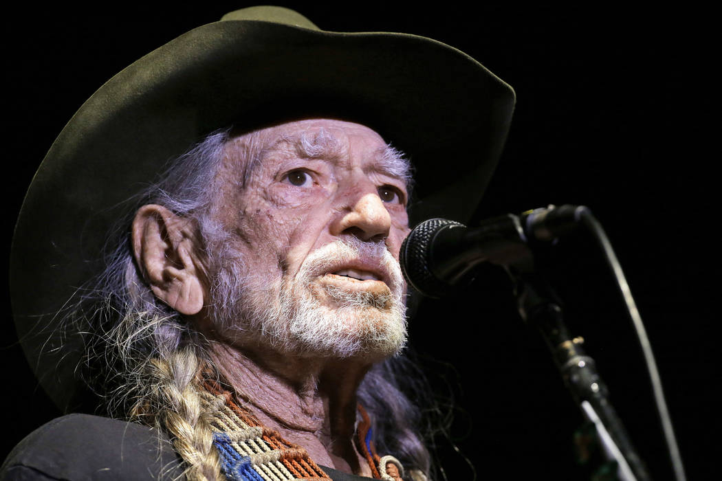 Willie Nelson performs in Nashville, Tenn. Nelson will hold a concert for Democratic Senate candidate Beto O'Rourke on Saturday, Sept. 29, 2018. O'Rourke is a three-term congressman from El ...