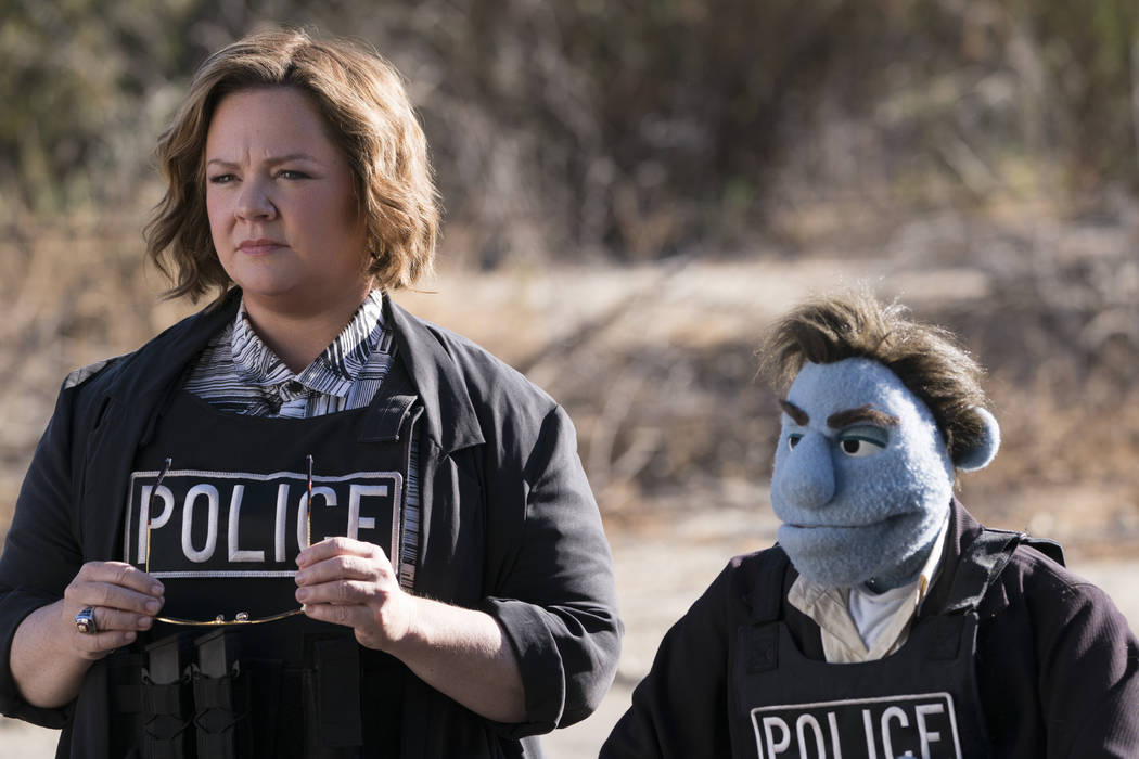 "This image released by STX Entertainment shows Melissa McCarthy in a scene from ""The Happytime Murders."" (Hopper Stone/STX Entertainment via AP)"