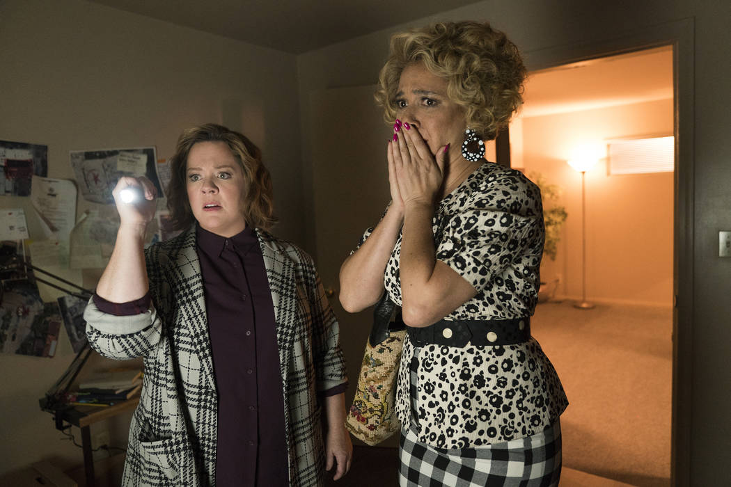 Melissa McCarthy and Maya Rudolph star in The Happytime Murders (Hopper Stone/STX Films)