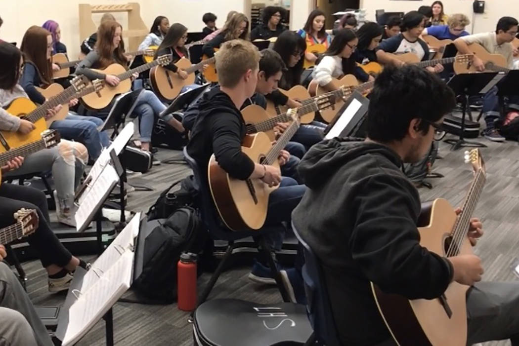 Saturday Concert Features About 200 North Las Vegas Students Las