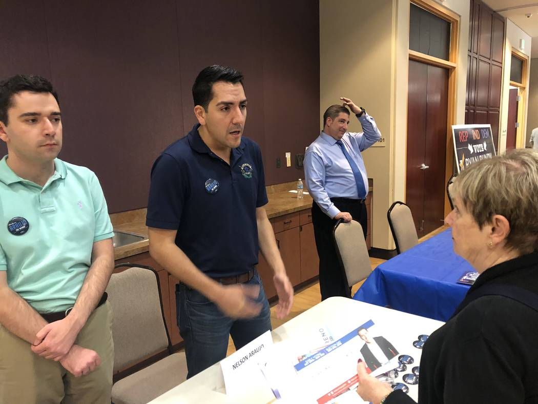Event Gives Voters A Chance To Grill Nevada Candidates Las Vegas
