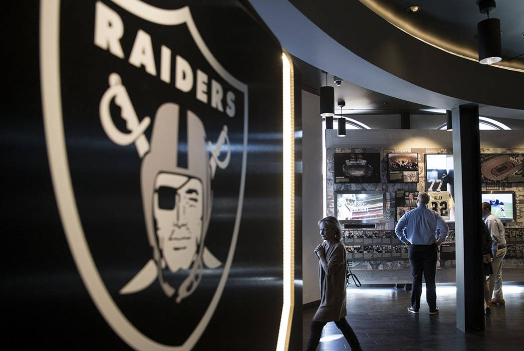 Business seems slow at Raiders stores in Las Vegas after 1-5