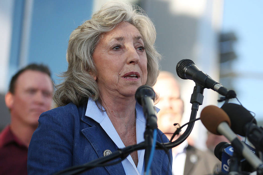 Rep. Dina Titus, D-Nev. (Bridget Bennett/Las Vegas Review-Journal) @BridgetKBennett