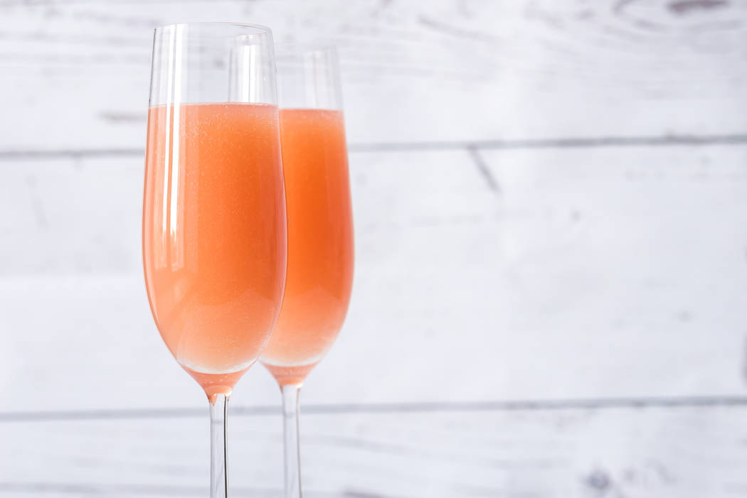 The Bellini, which owes its delicate flavor and faint-blush color to the sweet summer fruit, was created by Giuseppe Cipriani in 1948 at the storied Harry's Bar in Venice, Italy. Getty Images