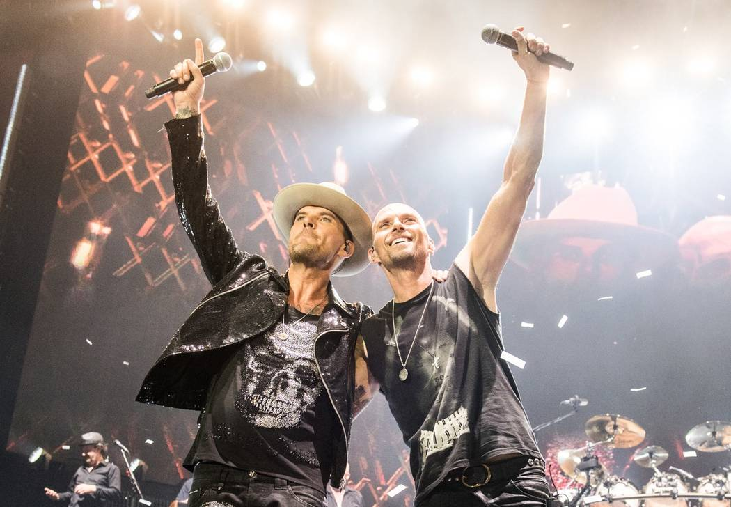 """Bros: After the Screaming Stops"" is the upcoming documentary focusing on the lives and careers of Matt, left, and Luke Goss. (Fulwell 73 Productions)"