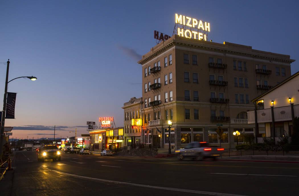 The Mizpah Hotel in Tonopah on Thursday, Oct. 11, 2018. Chase Stevens Las Vegas Review-Journal @csstevensphoto