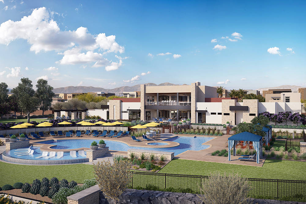 Trilogy in Summmerlin will open its Resort Club in 2019. (Summerlin)