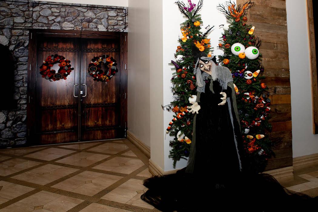Luxury Realtor Nicole Tomlinson has created Operation Halloween held at Tivoli Village in Summerlin. (Tonya Harvey Real Estate Millions)