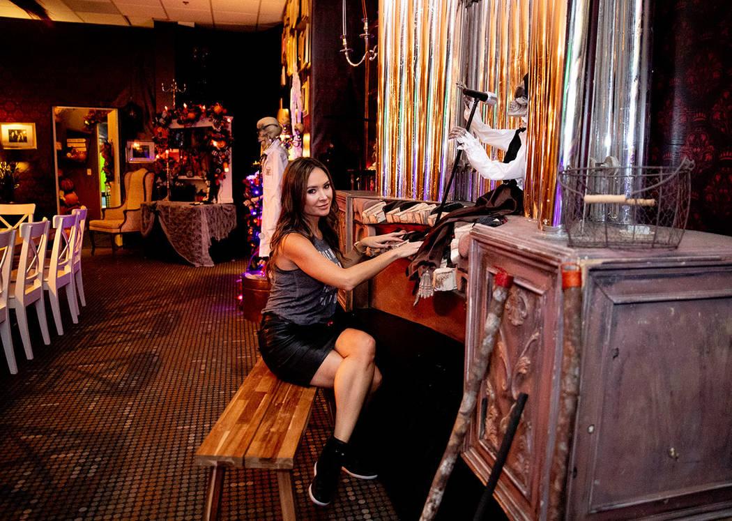 Luxury Realtor Nicole Tomlinson said she and her family love Halloween. (Tonya Harvey Real Estate Millions)