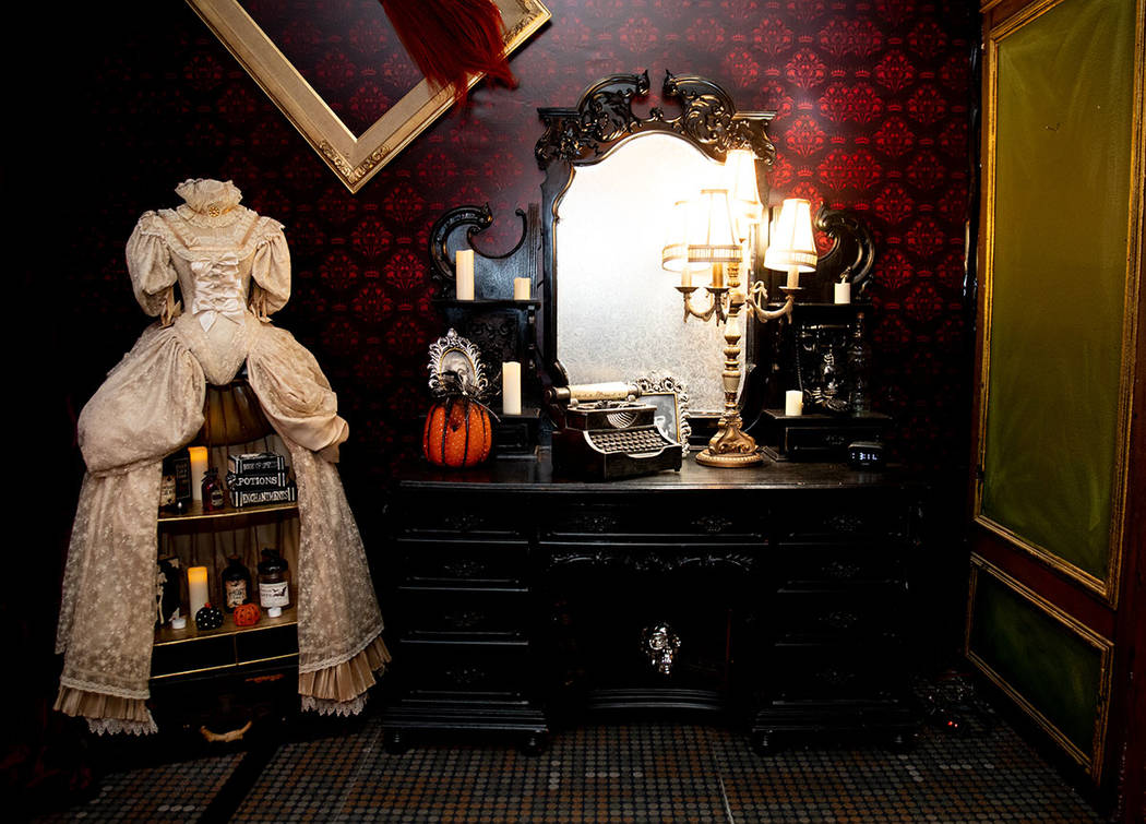 There are five themed rooms in the attraction. (Tonya Harvey Real Estate Millions)