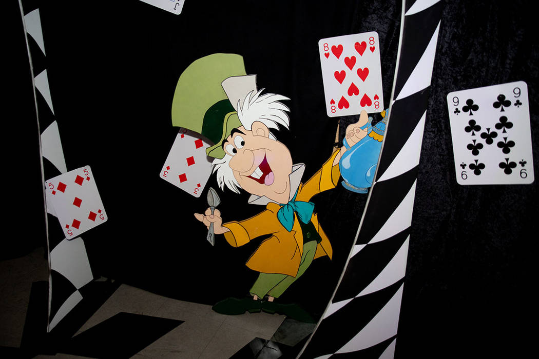 One of the five areas in the attraction has an Alice in Wonderland theme. (Tonya Harvey Real Estate Millions)