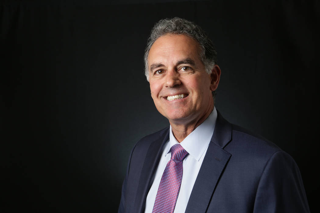 Danny Tarkanian, Republican candidate for the 3rd Congressional District, is photographed at the Las Vegas Review-Journal offices on Thursday, April 16, 2018. Michael Quine/Las Vegas Review-Journa ...