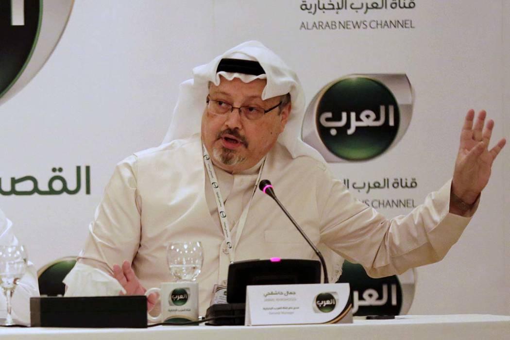 Jamal Khashoggi (Hasan Jamali, AP file)