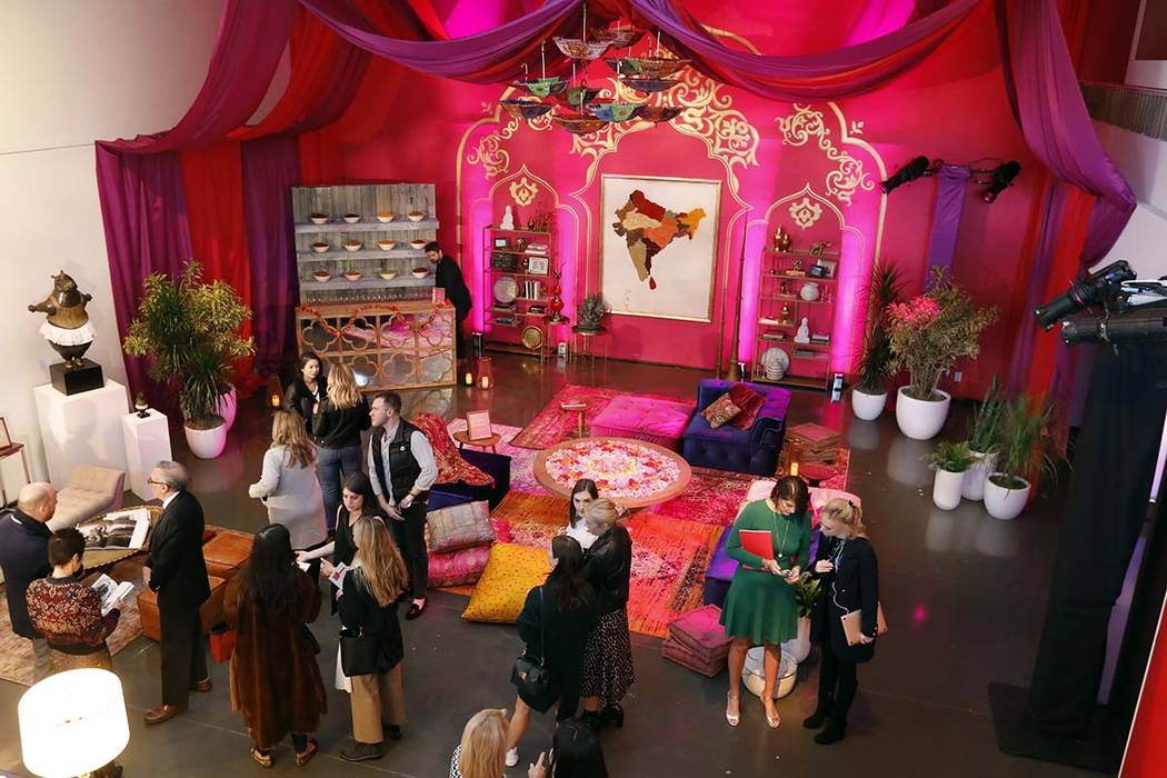 A display previewing travel to India, Nepal, Bhutan, and the Maldives with travel purveyor Black Tomato appears during a preview of the Neiman Marcus Christmas Book in New York, Thursday, Oct. 18, ...