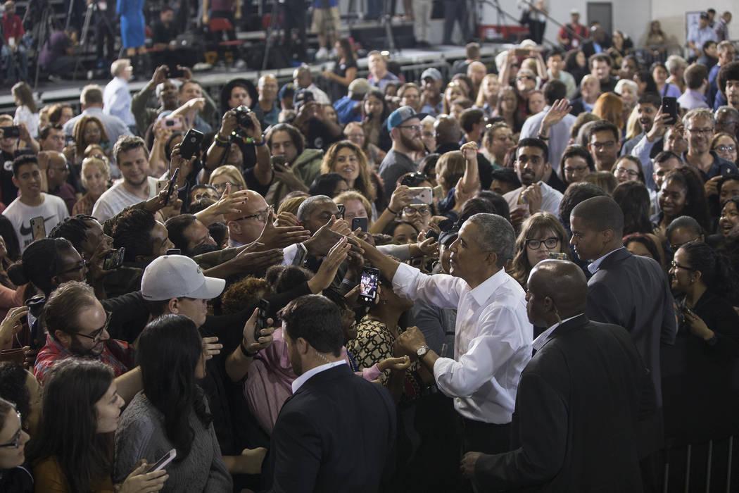 Image result for obama rally las vegas