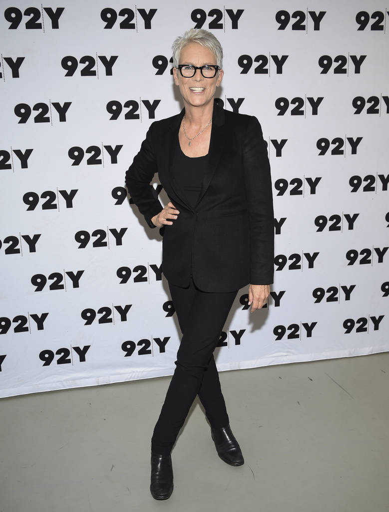 """Actress Jamie Lee Curtis attends a screening and conversation for the new film """"Halloween"""" at 92nd Street Y on Sunday, Oct. 7, 2018, in New York. (Photo by Evan Agostini/Invision/AP)"""