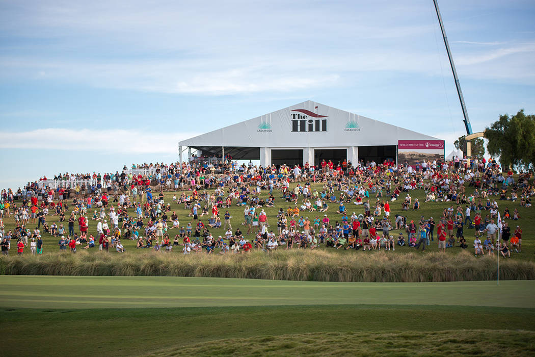 For the 26th consecutive year, the eyes of the golf world once again turn to Summerlin as the Shriners Hospitals for Children Open gets underway at TPC Summerlin, Nov. 1-4. (Summerlin)