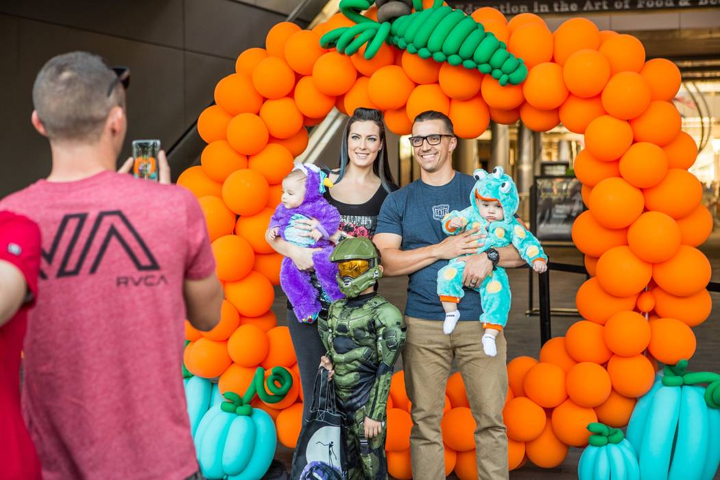The entire shopping center at Downtown Summerlin will be open Halloween night for an all-ages event, Treat Street. (Faiss Foley Warren PR)