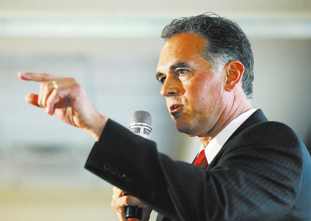 Danny Tarkanian. (AP Photo/John Locher, File)