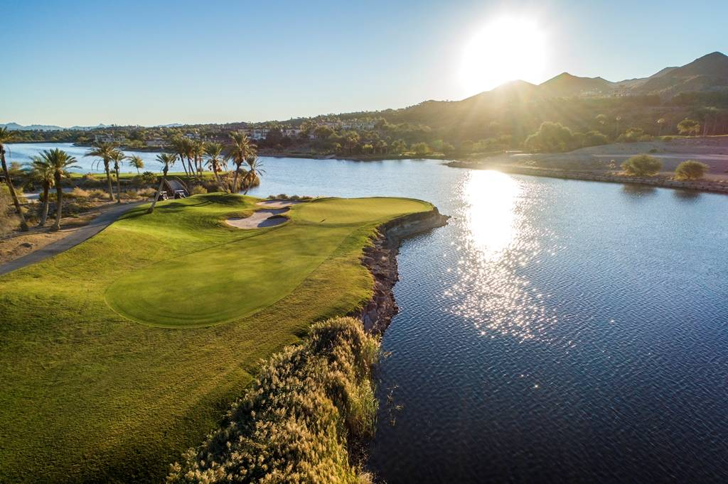 Built in 1998, Reflection Bay Golf Club was designed by 18-time major winner Jack Nicklaus. (Lake Las Vegas)