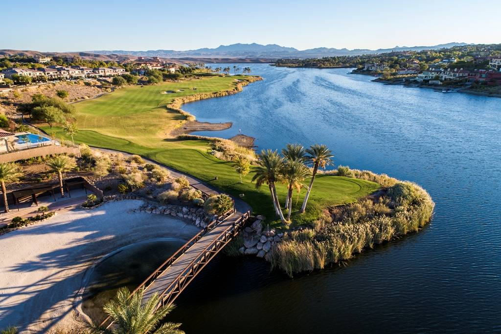 Reflection Bay Golf Club is designated as a prestigious Jack Nicklaus Signature Design, and is one of only three Nicklaus-designed courses in Southern Nevada. (Lake Las Vegas)