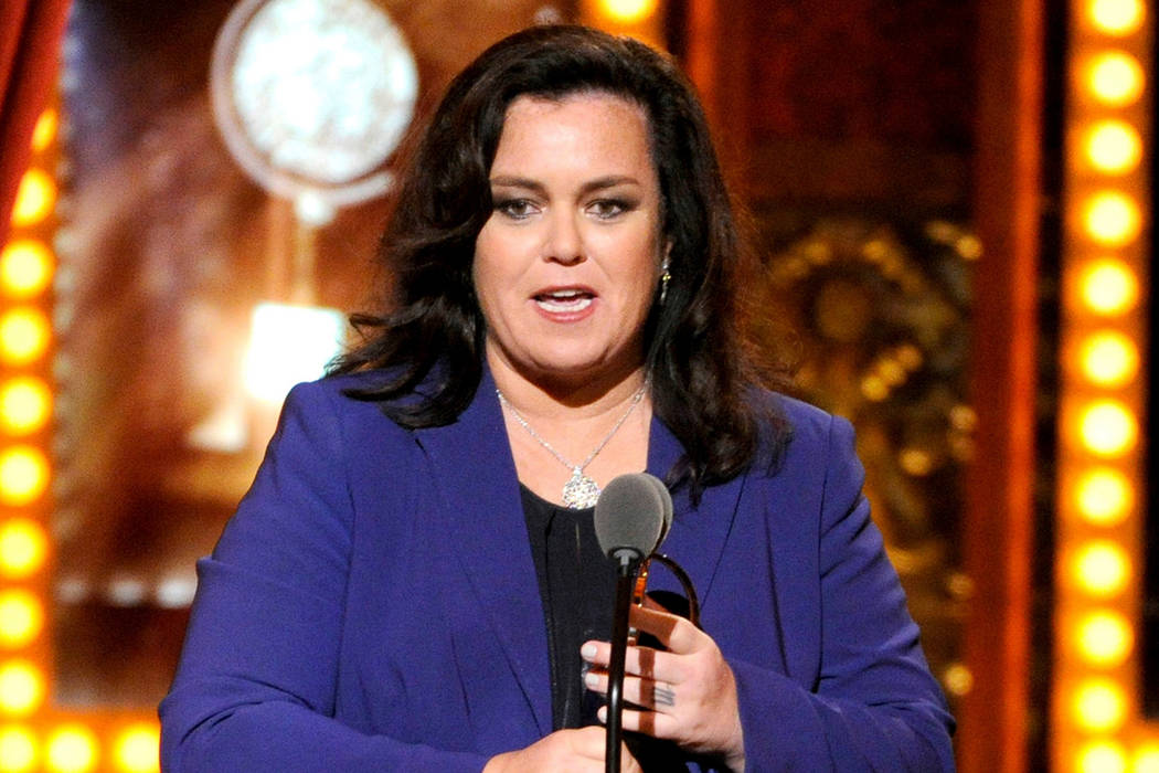 Rosie O'Donnell accepts the Isabelle Stevenson Award on stage at the 68th annual Tony Awards in New York, June 8, 2014. (Photo by Evan Agostini/Invision/AP, File)