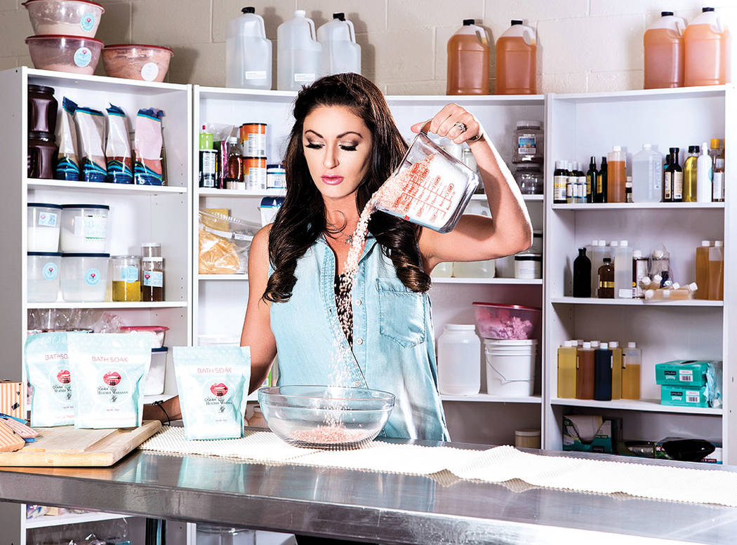 TV personality Heather Marianna is opening Beauty Kitchen Boutique. (S Goodrich)