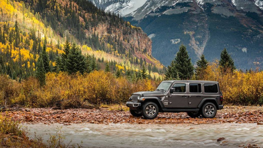 Visit any Chapman dealership in the valley to learn more about the 2018 Jeep Wrangler. (Jeep)