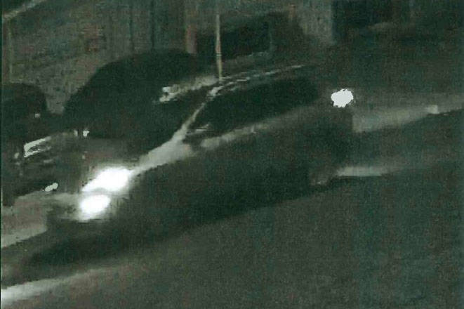 The Metropolitan Police Department on Wednesday released a description and surveillance footage of an SUV thought to be involved in Jammie Ramone Jackson's killing. (Las Vegas Metropolitan Polic ...