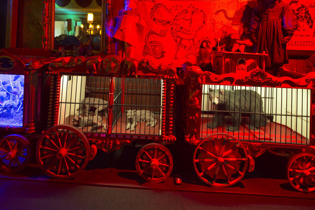 Zak Bagans' The Haunted Museum located at 600 E. Charleston Blvd. in downtown Las Vegas on Monday, Oct. 22, 2018. Richard Brian Las Vegas Review-Journal @vegasphotograph