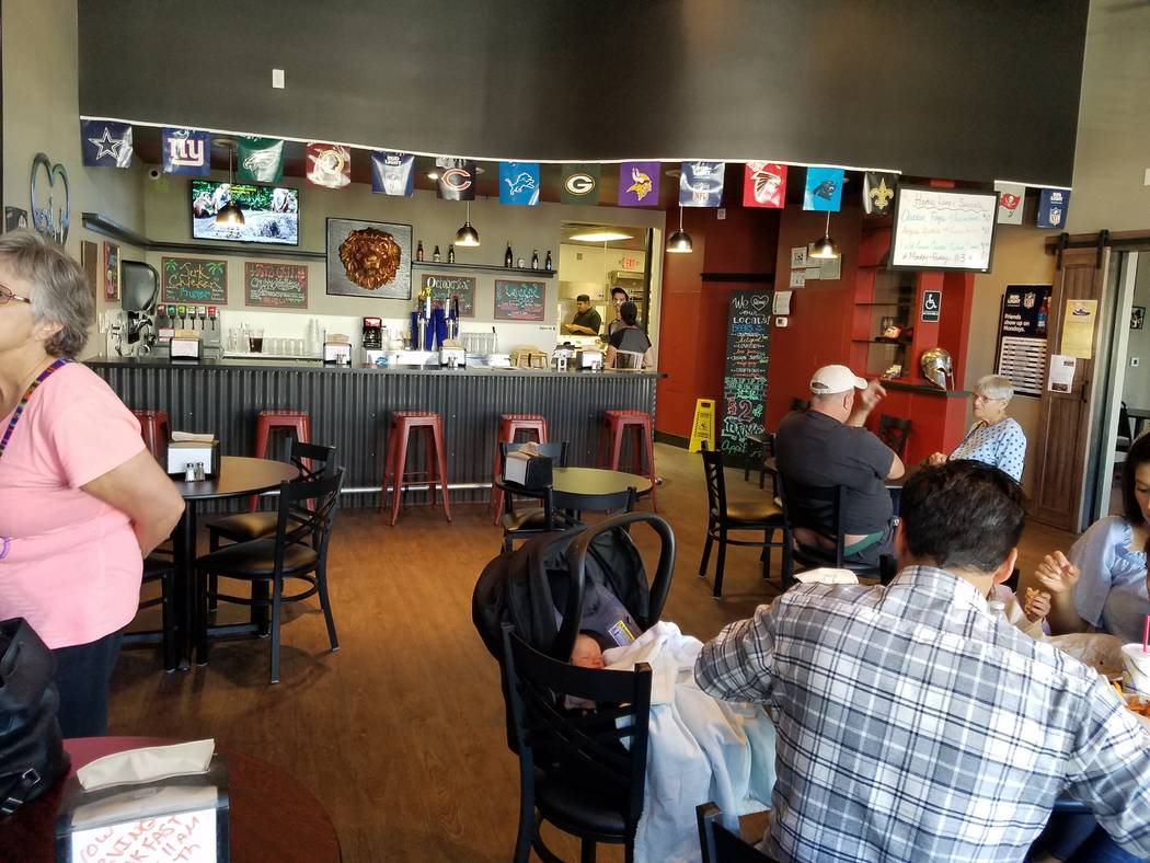 Hades Grill opened this summer at 306 S. Water St., Henderson. The restaurant serves beer and wine, and the menu includes barbecued meats, burgers, salads, chili and starters. (Heidi Knapp Rinell ...