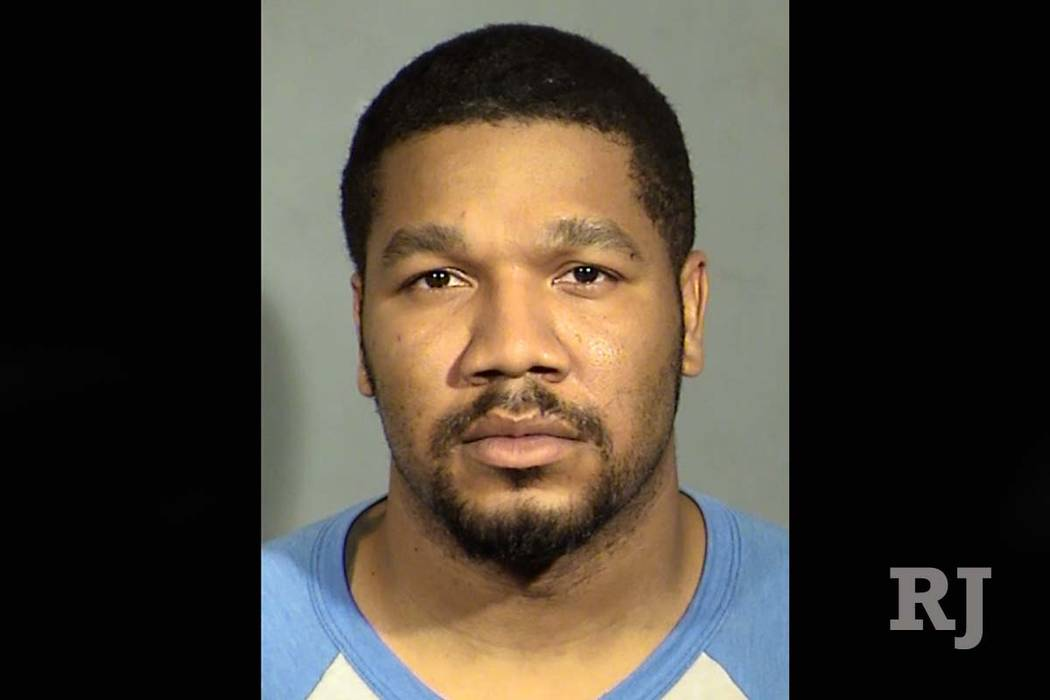 Julius Trotter is shown in an arrest photo from February 2017. (Las Vegas Metropolitan Police Department)