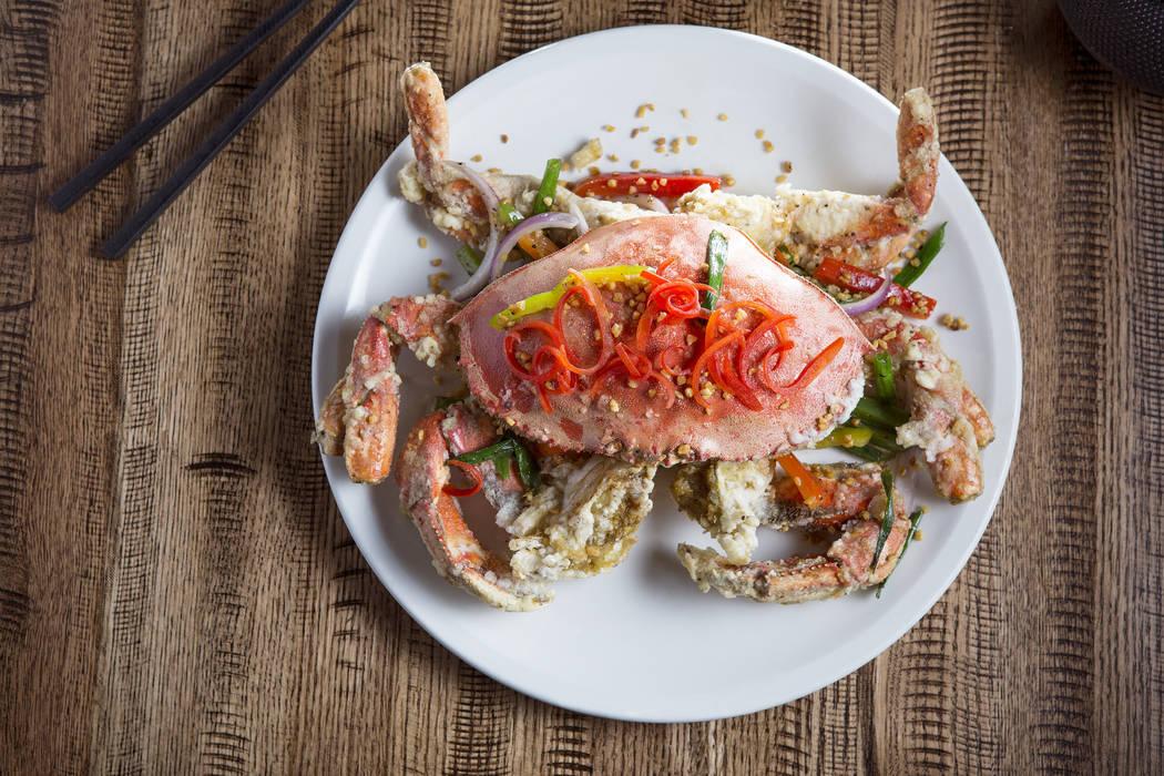 Crab at Boathouse. Palace Station