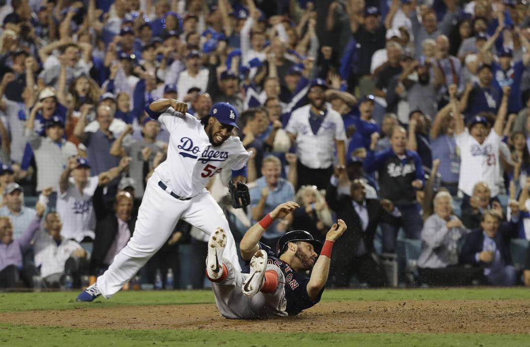 Dodgers vs red sox