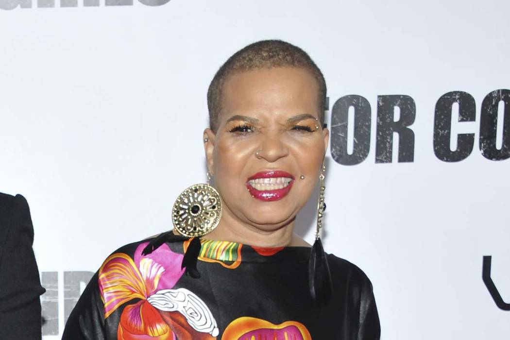 "Author Ntozake Shange attends a special screening of ""For Colored Girls"" at the Ziegfeld Theatre in New York on Oct. 25, 2010. Playwright, poet and author Ntozake Shange, whose most acclaimed thea ..."