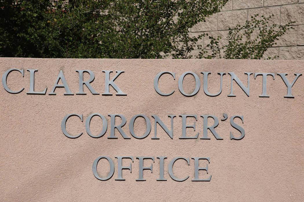 The Clark County coroner office in Las Vegas. (Bizuayehu Tesfaye,/Las Vegas Review-Journal @bizutesfaye)