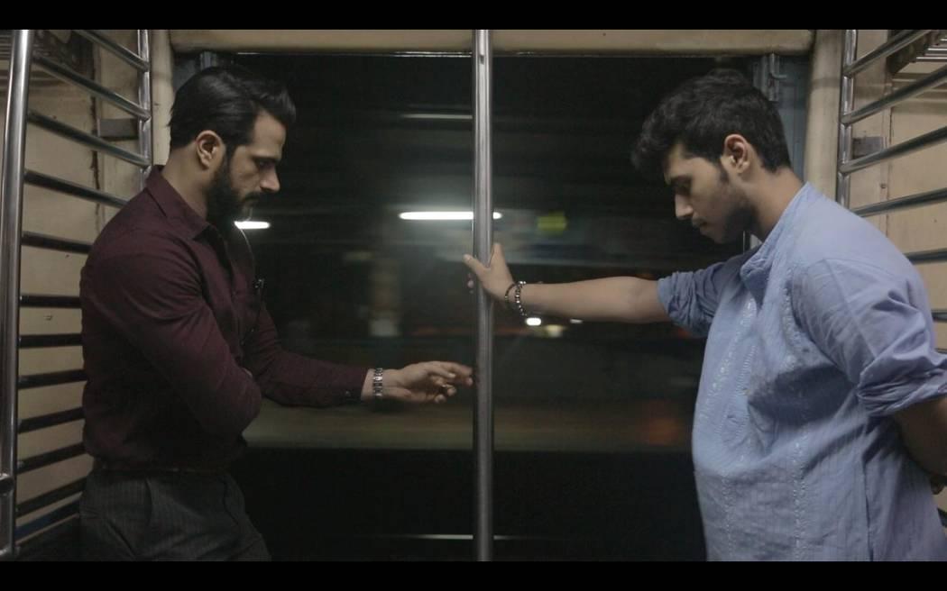 "Jitin Gulati, left, and Dhruv Singhal star in ""Sisak."""