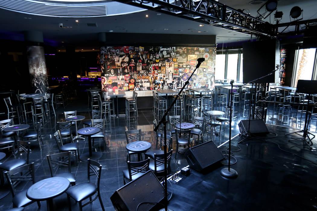 New music venue 172 inside the Rio in Las Vegas Monday, Oct. 29, 2018. K.M. Cannon Las Vegas Review-Journal @KMCannonPhoto