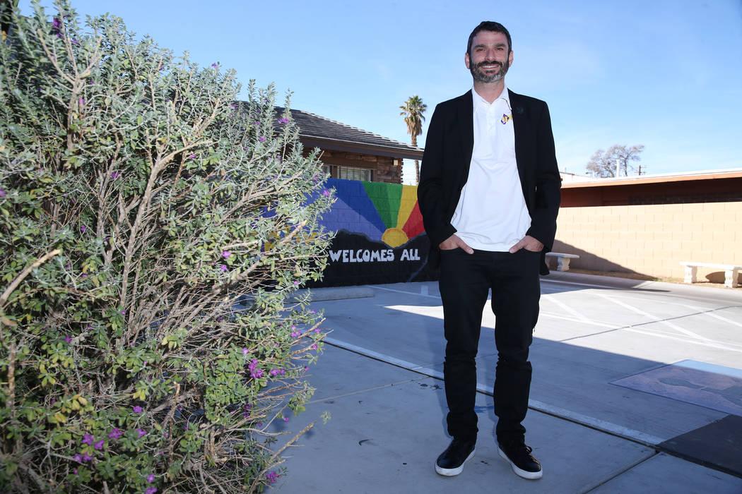 Director Arash Ghafoori outside of the Nevada Partnership for Homeless Youth in Las Vegas, Wednesday, Oct. 31, 2018. Erik Verduzco Las Vegas Review-Journal @Erik_Verduzco