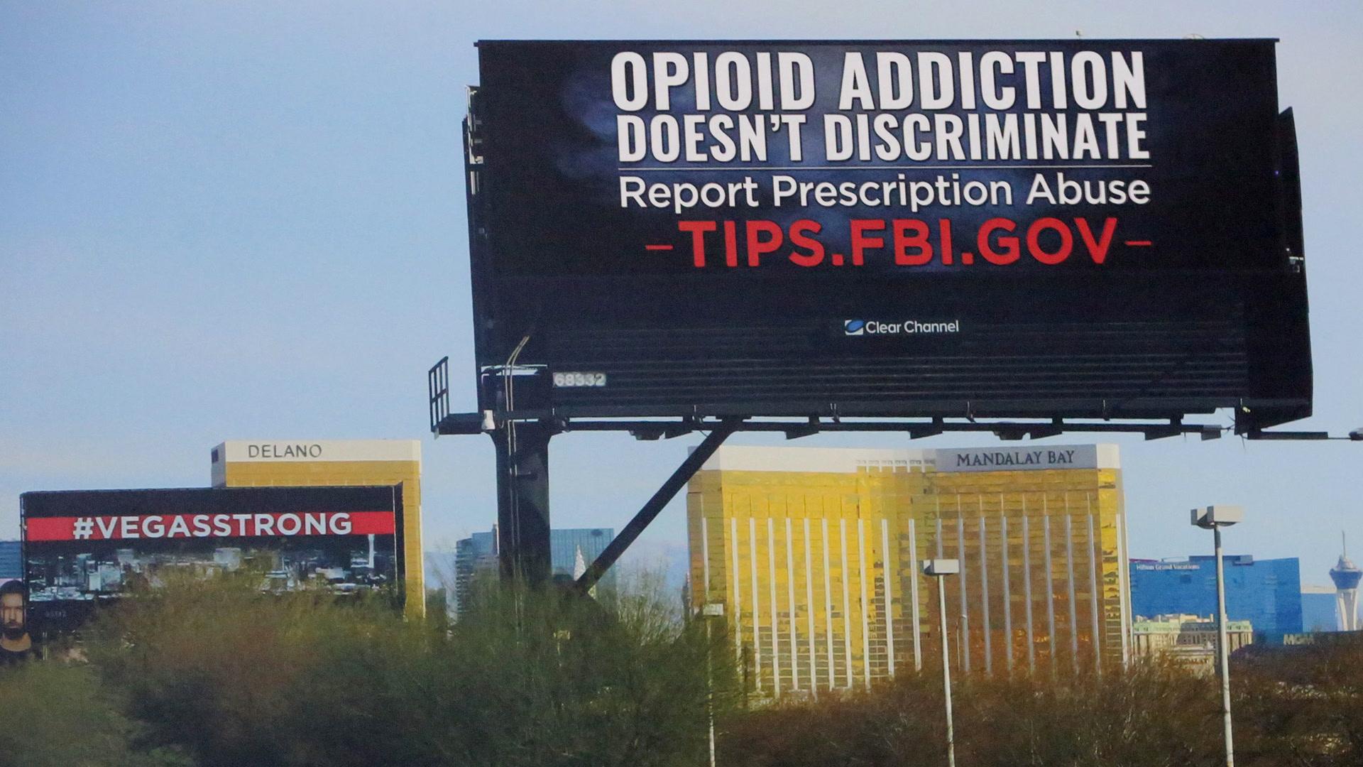Fbi Billboards Ask Las Vegas Residents To Report Opioid