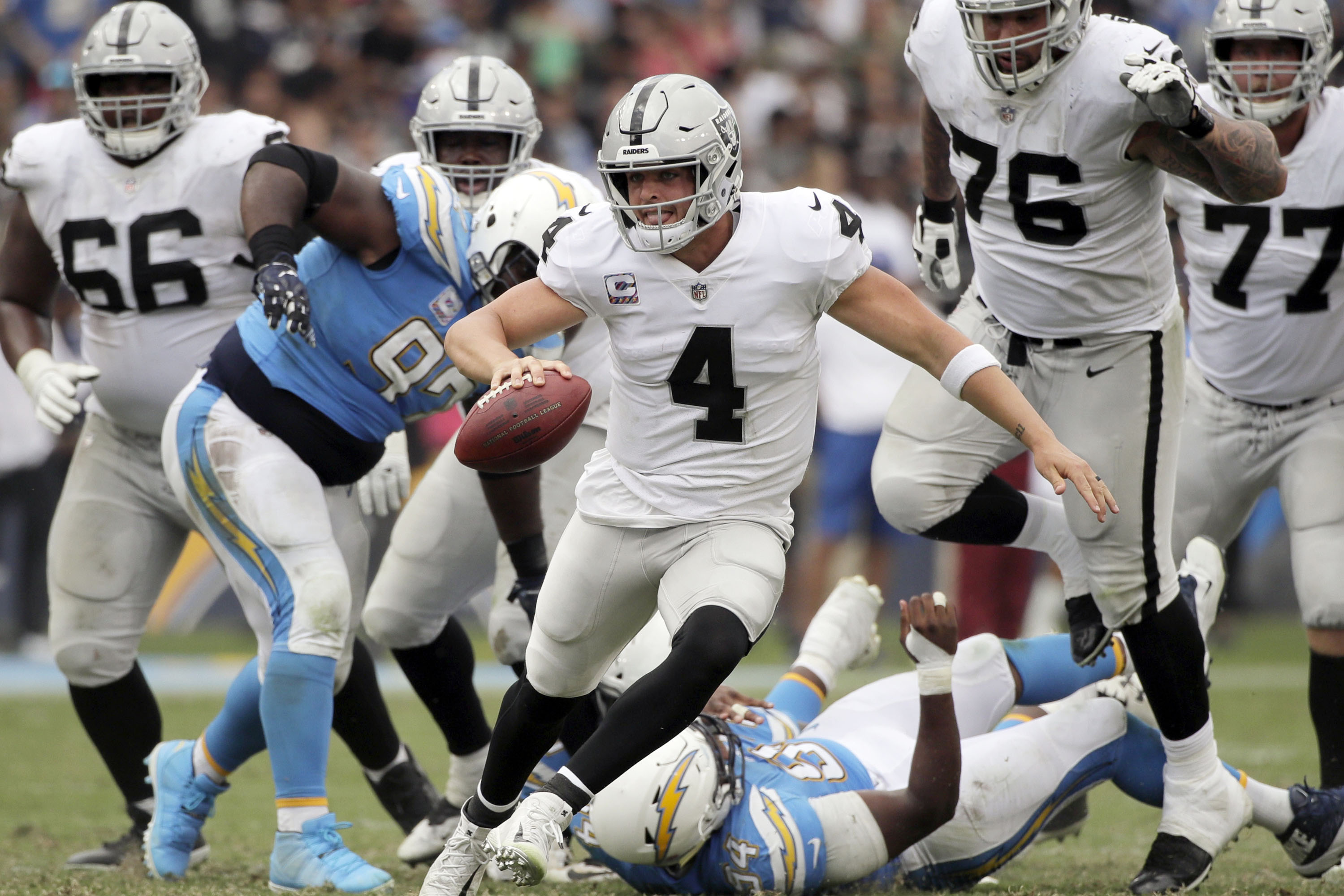 Raiders mailbag: Revisiting the team's offensive dud in LA