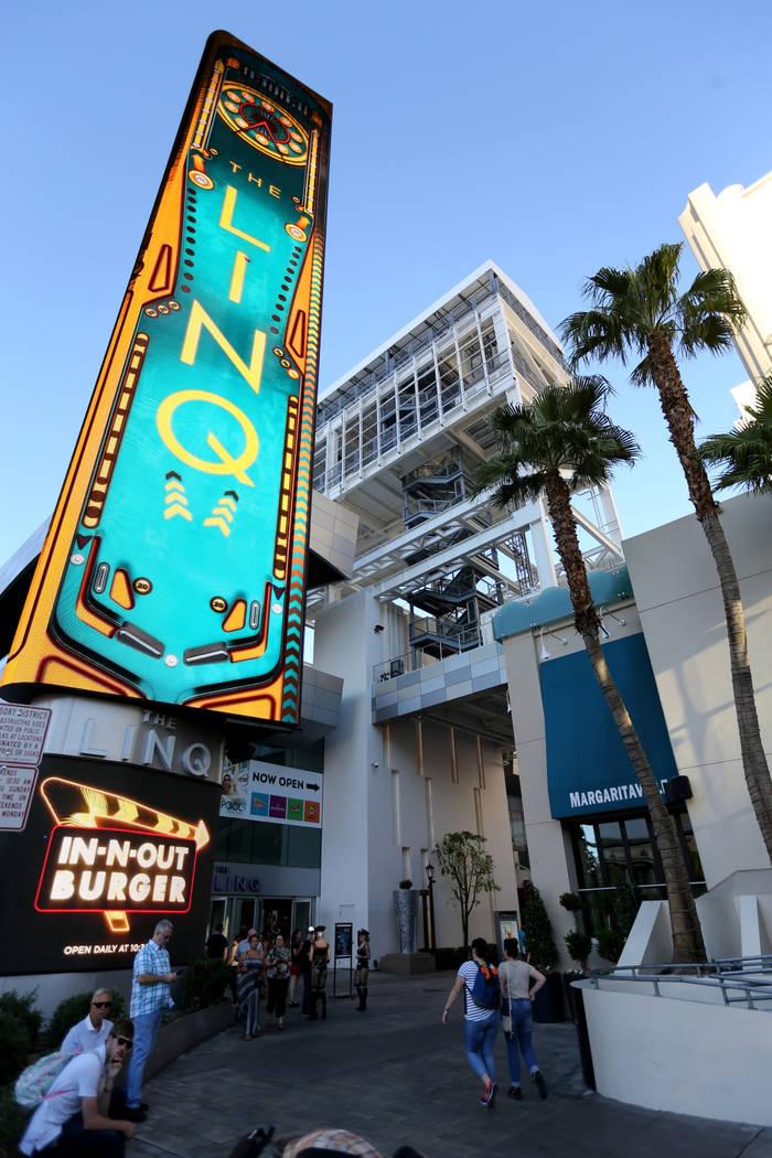 The Link Hotel on the Strip in Las Vegas Thursday, Oct. 4, 2018. K.M. Cannon Las Vegas Review-Journal @KMCannonPhoto