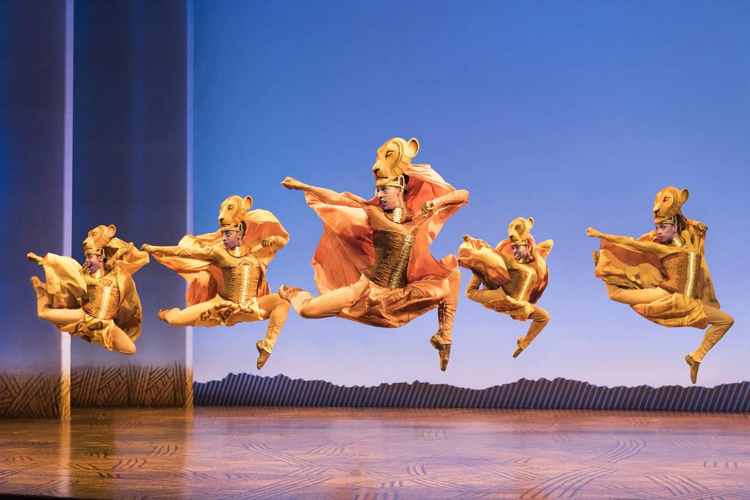 """""""Lionesses Dance"""" in THE LION KING Photo Credit Deen van Meer."""
