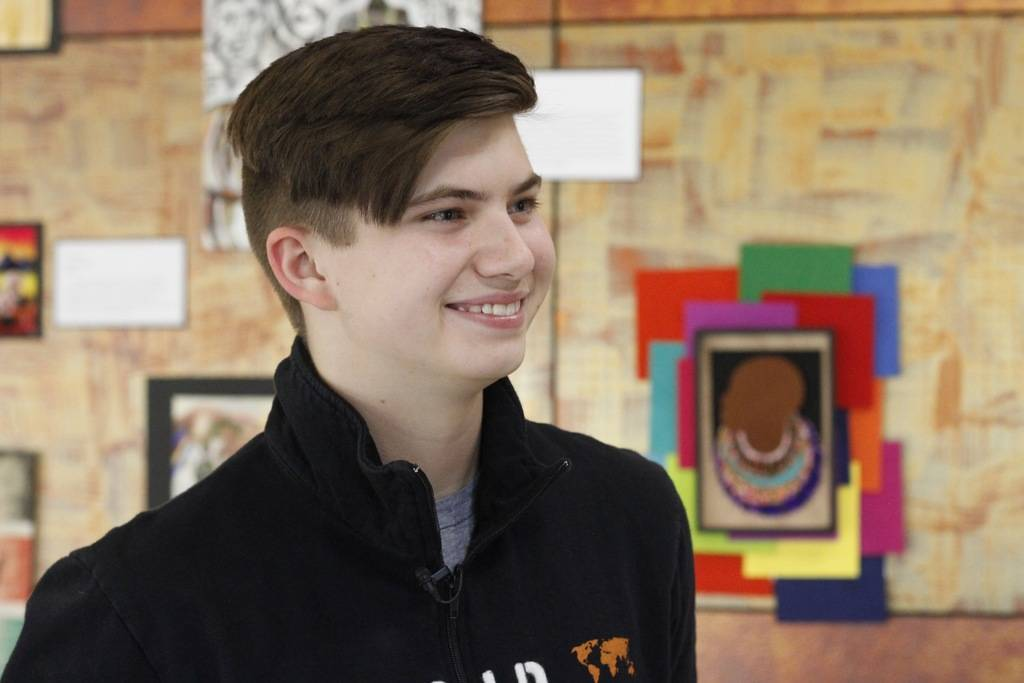 Micah Fogo of Summerlin, a senior at Faith Lutheran High School was one of eight students who traveled to Kenya through a partnership between Faith Lutheran and World Vision called World Vision Ig ...